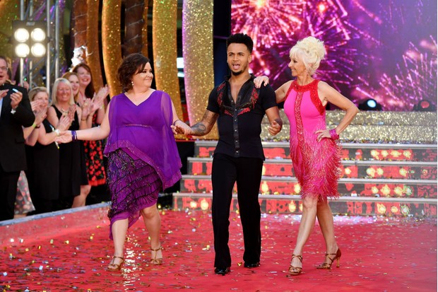 Strictly 2017 celebrities susan calman, aston merrygold and debbie mcgee