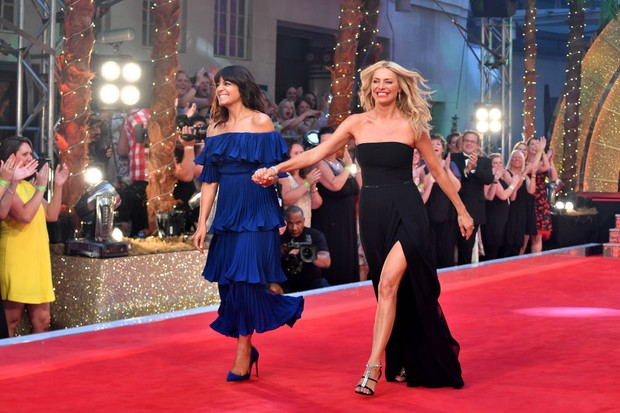 Claudia Winkleman and Tess Daly Strictly 2017