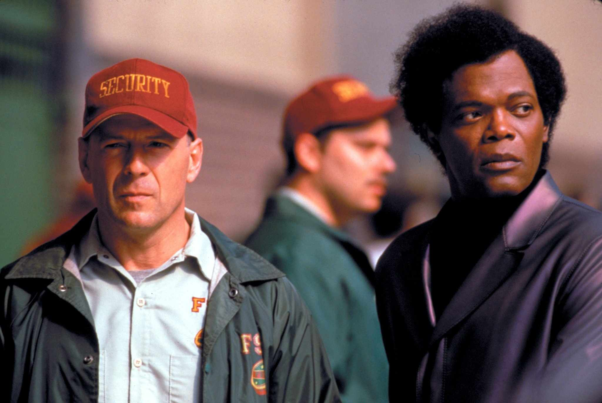 Bruce Willis and Samuel L Jackson
