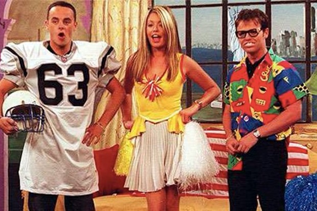 SM: TV Cat Deeley Ant McPartlin and Declan Donnelly