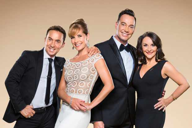 The Strictly Come Dancing judges 2017