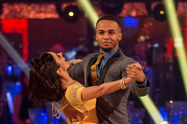 Strictly Come Dancing stars Aston Merrygold and Janette Manrara