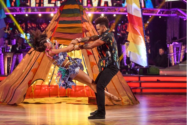 Strictly's Aston Merrygold and Janette Manrara