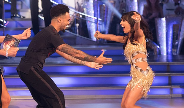 Aston Merrygold and Janette Manrara on Strictly Come Dancing
