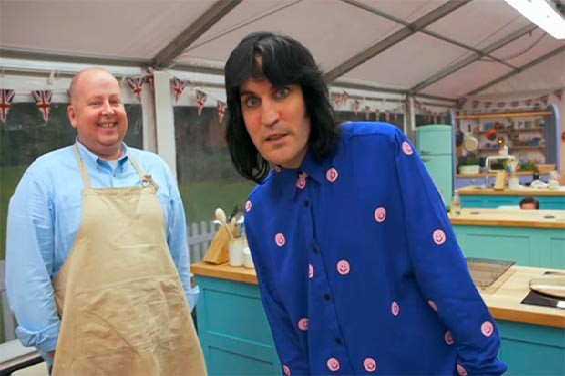 The Great British Bake Off Noel Fielding
