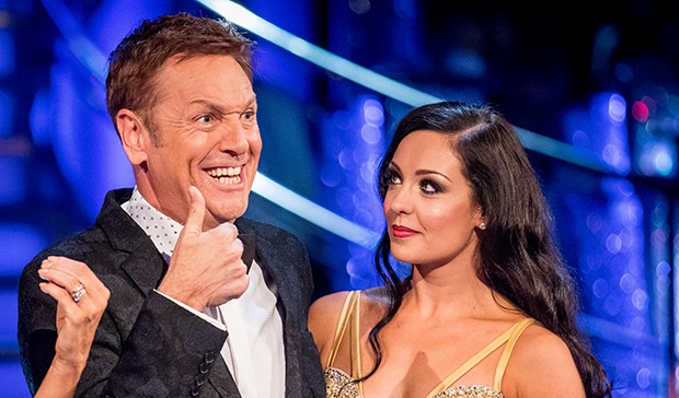 Brian Conley and Amy Dowden on Strictly Come Dancing