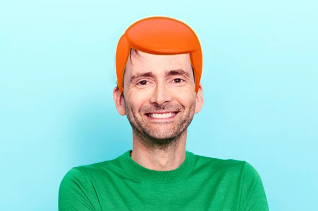David tennant red head