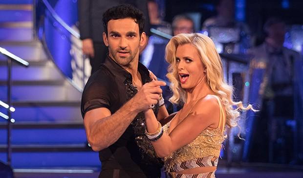 Davood Ghadami and Nadiya Bychkova on Strictly Come Dancing