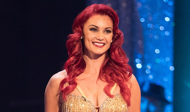 Dianne Buswall on Strictly Come Dancing
