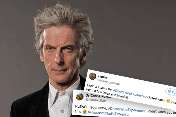 Doctor Who Experience Closes