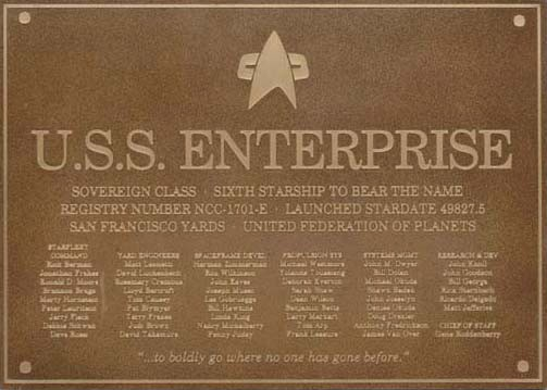 Enterprise-E_dedication_plaque