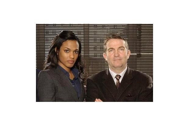 Freema Agyeman and Bradley Walsh in Law & Order: UK