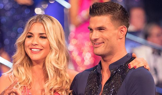 Gemma Atkinson and Aljaz Skorjanec on Strictly Come Dancing