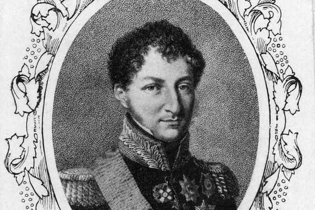 Prince Albert's father Ernst I, Duke of Saxe-Coburg-Gotha