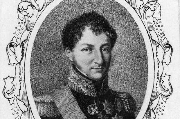 Prince Albert's father Ernst I, Duke of Saxe-Coburg-Gotha