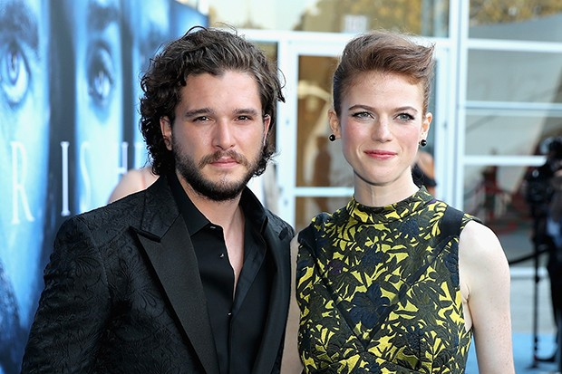 Game Of Thrones Kit Harington Spoils Series Final For Wife Rose