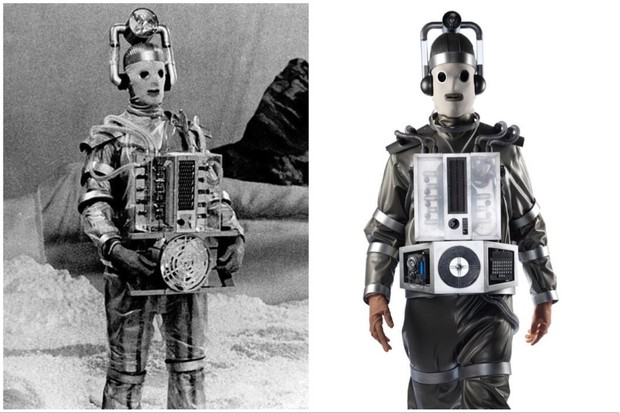 The original Mondasian Cybermen, and how they were recreated in 2017