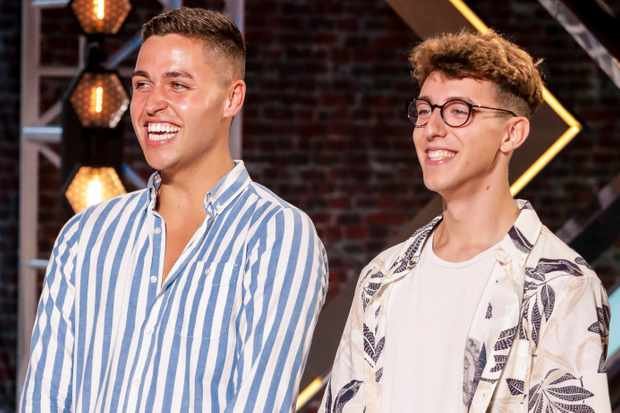 Jack and Joel from The X Factor