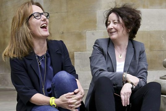 Jane Garvey and Fi Glover in Fortunately