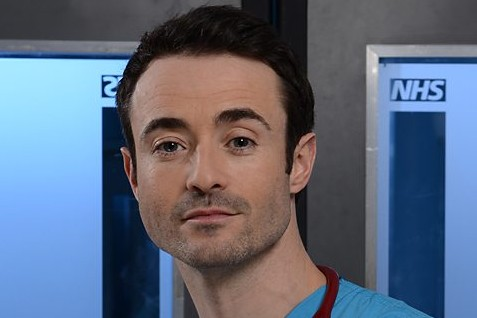Joe McFadden as Raf di Lucca in Holby City