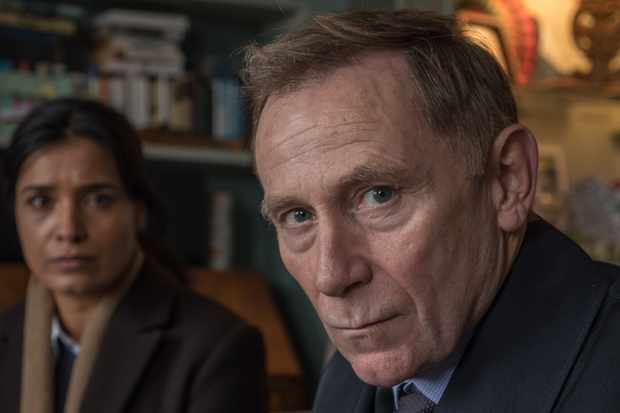 Danny Webb as DS Rory Maxwell in Liar (ITV)