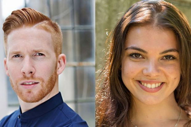 Neil Jones and Chloe Hewitt on Strictly Come Dancing