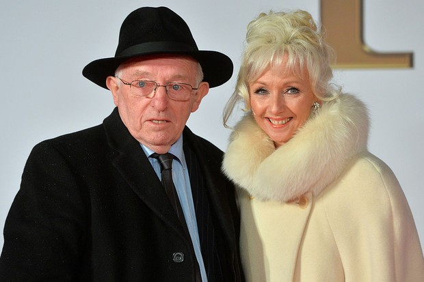 Paul Daniels and Debbie McGee in 2015