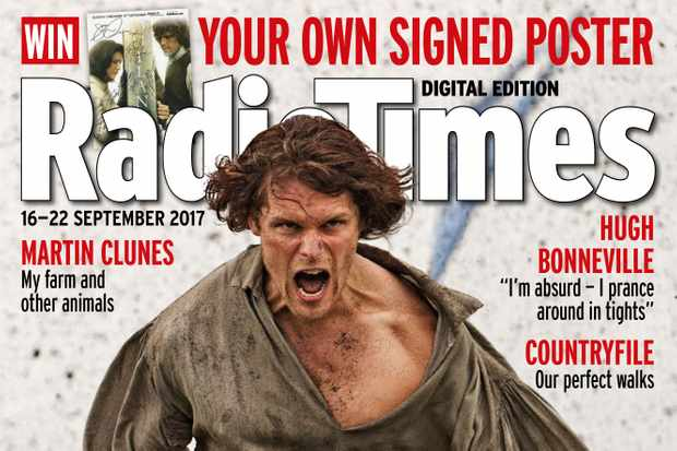 Outlander Radio Times cover