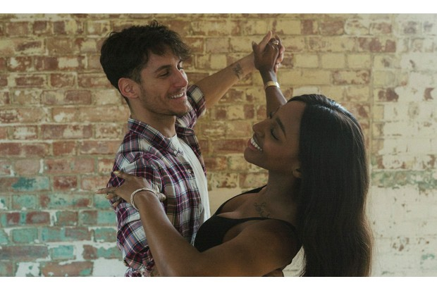 Rehearsal Strictly Come Dancing Alexandra Burke Gorka Marquez