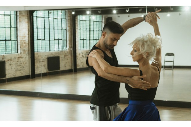 Rehearsal Strictly Come Dancing Debbie McGee Giovanni Pernice