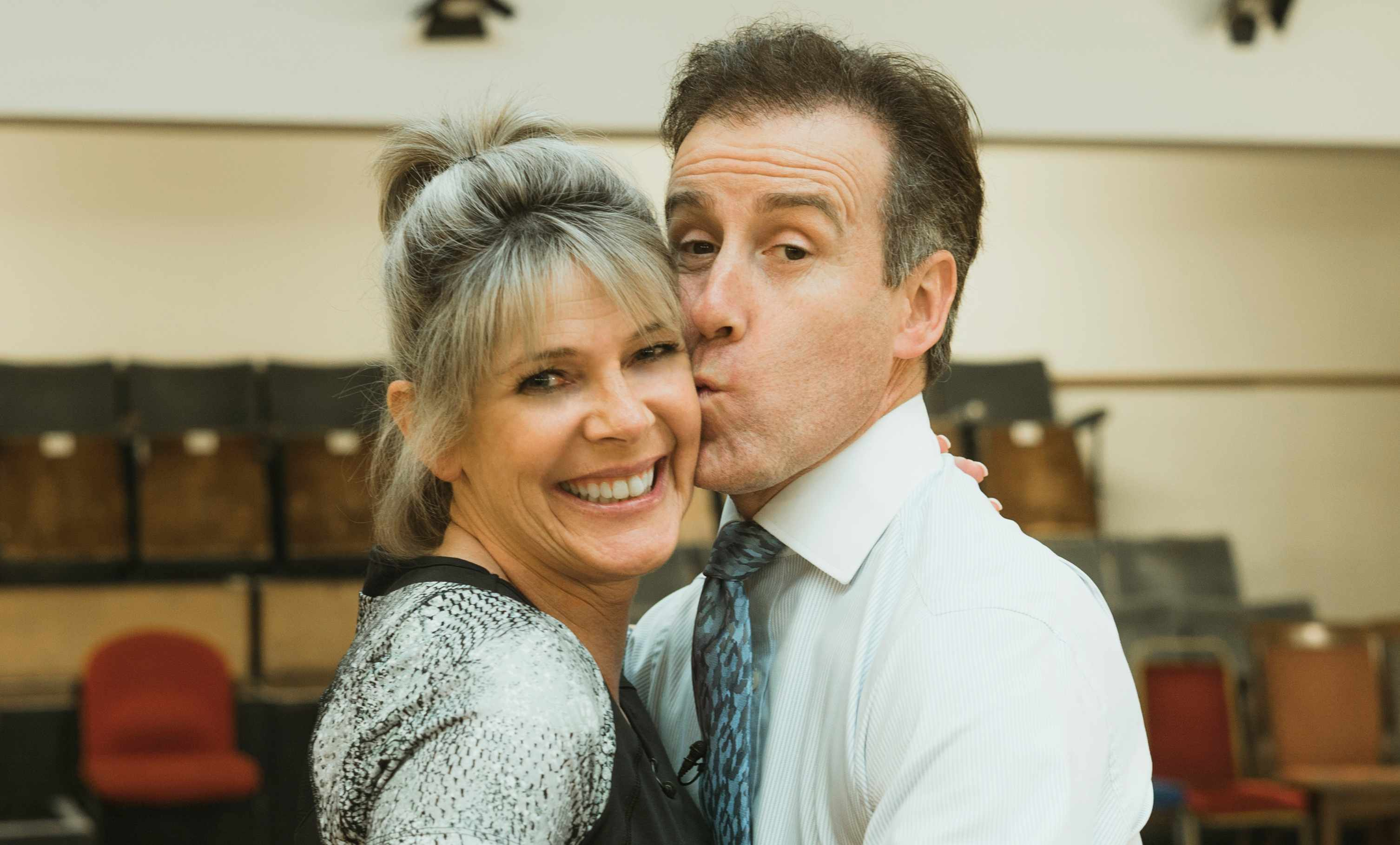 Rehearsal Strictly Come Dancing Ruth Langsford and Anton Du Beke