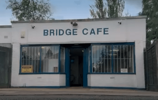 Is The Bridge Cafe a real place? Where is it? When's it open?