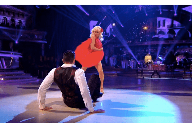 Debbie McGee and Giovanni Pernice on Strictly Come Dancing