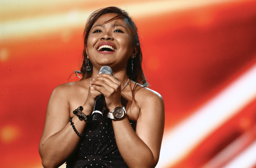 Alisah Bonaobra on The X Factor 2017
