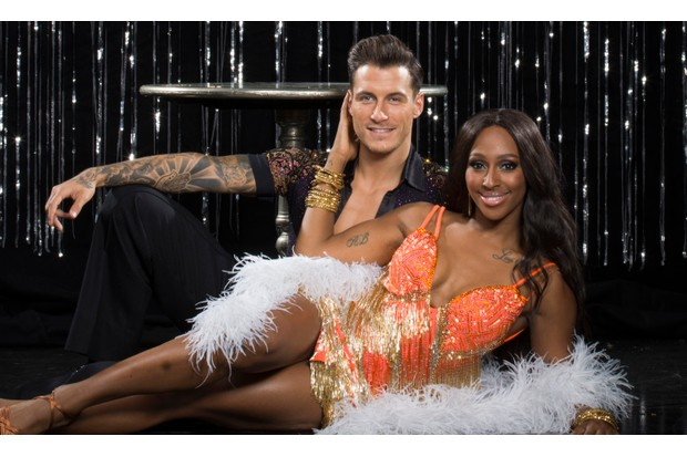 Strictly Come Dancing Alexandra Burke Gorka Marquez