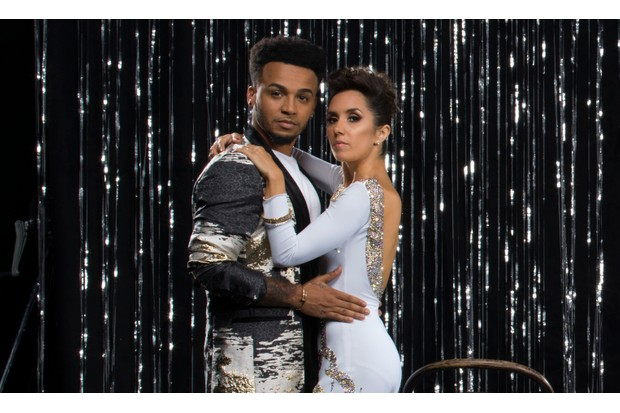 Strictly Come Dancing Aston Merrygold and Janette Manrara