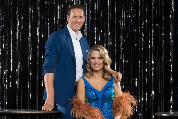 Strictly Come Dancing Brendan Cole Charlotte Hawkins