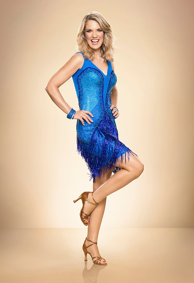 Strictly Come Dancing Charlotte Hawkins
