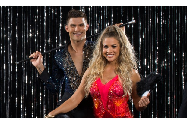 Strictly Come Dancing Gemma Atkinson Aljaz Skorjanec