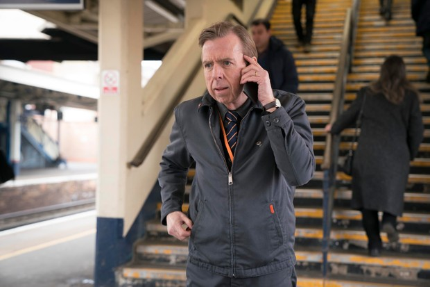 Timothy Spall as Ed in Electric Dreams episode The Commuter