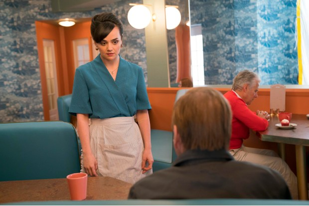 Hayley Squires as a waitress in Electric Dreams episode The Commuter