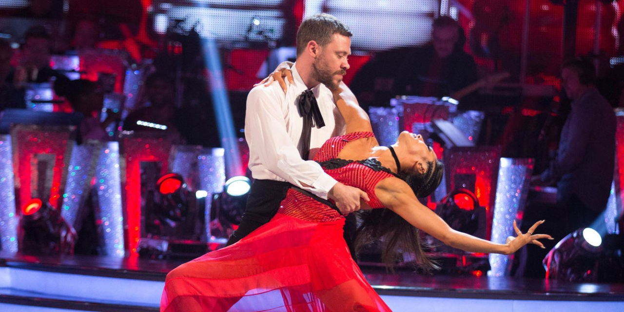 Will Young and Karen Clifton compete in Strictly Come Dancing (BBC)
