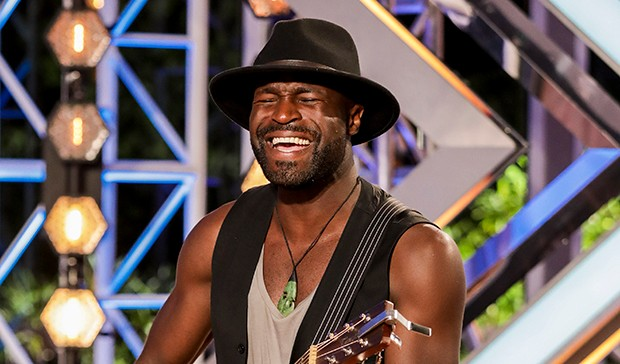 The X Factor Kevin Davy White