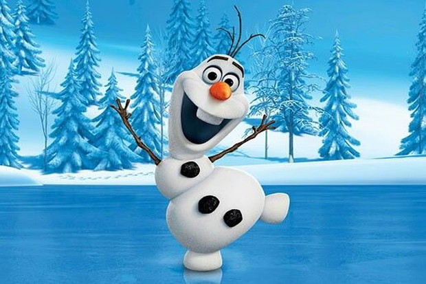 Olaf is voiced by Josh Gad in Disney's Frozen