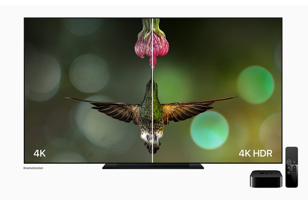Apple TV 4K HDR comparison