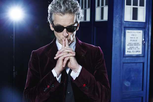 Peter Capaldi Doctor Who TV Hero