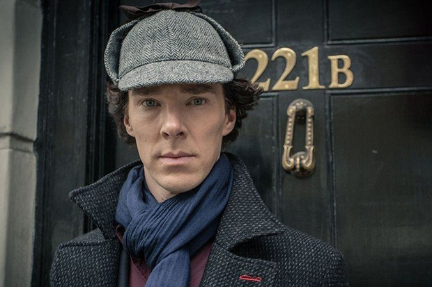 Benedict Cumberbatch stars as Sherlock Holmes (BBC)