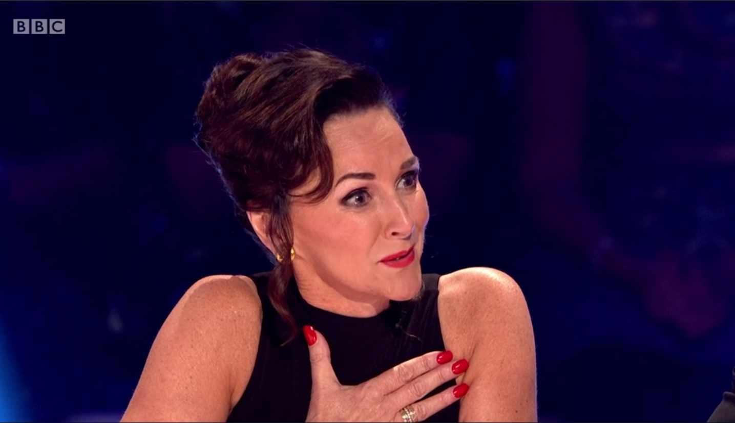 Shirley Ballas crying (BBC)