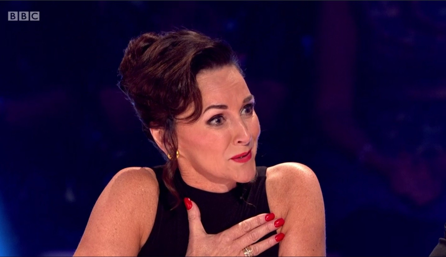 Shirley Ballas crying (BBC)