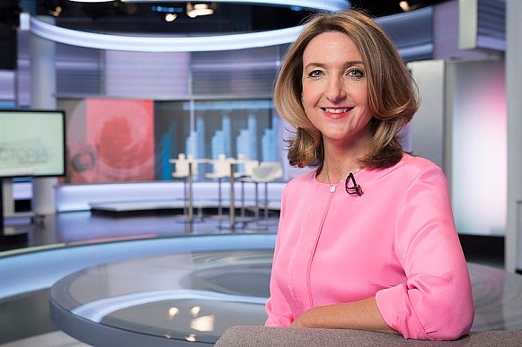 Victoria Derbyshire Reads News With Domestic Abuse Helpline On Hand Radio Times